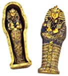 Egyptian Mini King Tut Coffin W/Mummy...