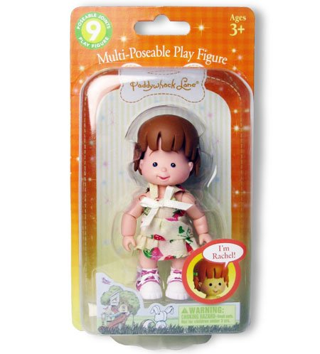 Rachel in Fashion Multi-Poseable Play Figure - 1