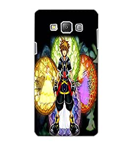 SAMSUNG GALAXY A7 CARTOON Back Cover by PRINTSWAG