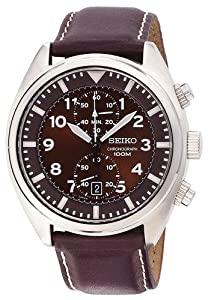 (史低)Seiko Men's SNN241精工男士石英表 $94.27