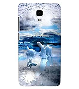 ColourCraft Awesome Scenery Design Back Case Cover for XIAOMI MI 4