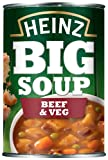Heinz Big Soup Beef and Vegetable 400 g (Pack of 12)