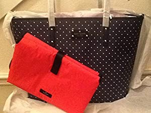 Kate Spade Kennywood Harmony Baby Diaper Bag Navy / Cream by Kate spade