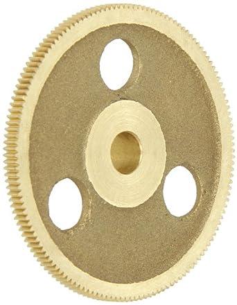 """Brass Pinion Gear 64P 20 Deg Pressure Angle 144Teeth x .313"""" Bore x 2.250"""" Pitch Dia"""