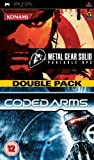 MGS Portable Ops / Coded Arms Doublepack (PSP)