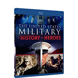 The United States Military: A History of Heroes - BD [Blu-ray]