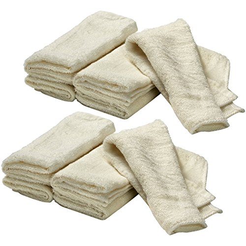 Prince Lionheart Warmies Reusable Cloth Wipes, 2 Pack (16 Count) - 1
