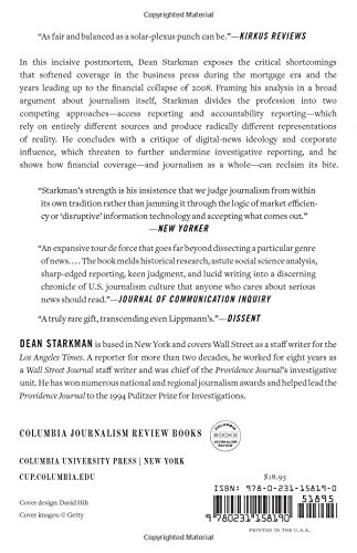 The Watchdog That Didn't Bark: The Financial Crisis and the Disappearance of Investigative Journalism: Columbia Journalism Review Books