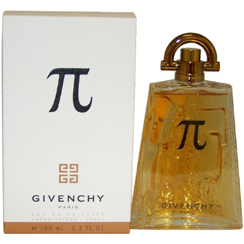 Pi by Givenchy for Men Eau De Toilette Spray, 3.4 Ounce