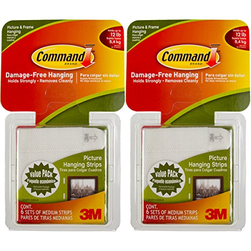Command 3M Picture Frame Hanging Strips