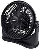 Impress IM-708 8-Inch 3-Speed High Velocity Fan Black