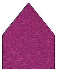 Tiekart Solid Microfibre Pocket Square (Ps327_Purple)