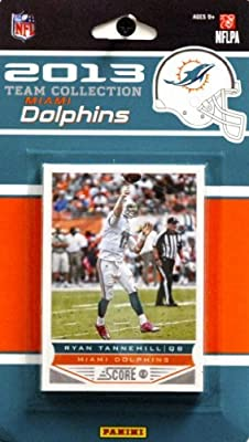 NFL Miami Dolphins Licensed 2013 Score Team Set