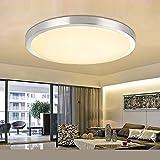 LED Deckenlampe Deckenleuchte Badlampe Wandlampe Lampe Leuchte Warmweiss 12W/18W IP44