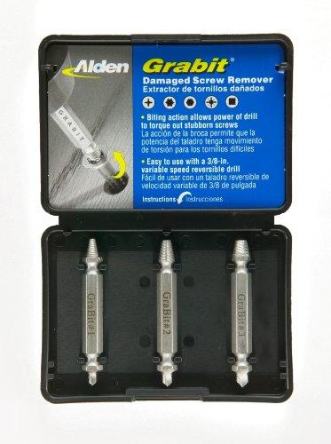 Alden 8530P Grabit Power Screw Extractor Set