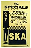 THE SPECIALS 1996 FREE REPRODUCTION CONCERT POSTER 16X12
