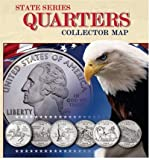 [STATE SERIES QUARTER COLLECTOR MAP] BY Whitman Publishing (Author) Whitman Publishing (publisher) Hardcover