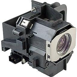 Projector Lamp Bulb ELPLP49/V11H291120/ V11H292020/ V11H293320/ V11H336120/ V11H336420/ V11H338320/ V11H373420/ V11H420320/ V13H010L49 with Housing For EPSON Projectors