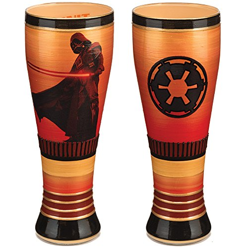 Star Wars Darth Vader Hand Painted 20 Oz Hand Crafted Pilsner Glass