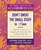 img - for [(Don't Sweat the Small Stuff for Teens )] [Author: Richard Carlson] [Sep-2000] book / textbook / text book