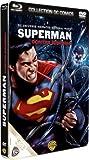 echange, troc Superman contre Brainiac - Boîtier métal Blu-Ray + DVD - Collection DC COMICS [Blu-ray]