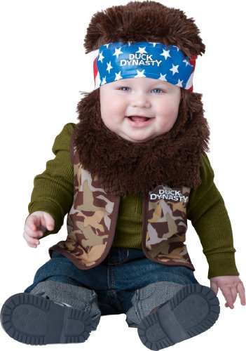 Duck Dynasty Baby Boy's Willie Costume