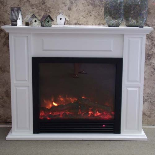 Yosemite df mp765 ceres free standing wood mantle and Free standing fireplace
