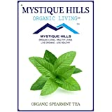 MYSTIQUE HILLS - Organic Sun Dried Whole Spearmint Tea (PREMIUM QUALITY) (100 GR)