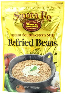 Santa Fe Bean Co., Instant Southwestern Style Refried Beans, 7.25-Ounce Pack (Pack of 8) by Santa Fe Bean Company