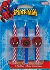 DecoPac 11745 Spider-Man Candles – 6…
