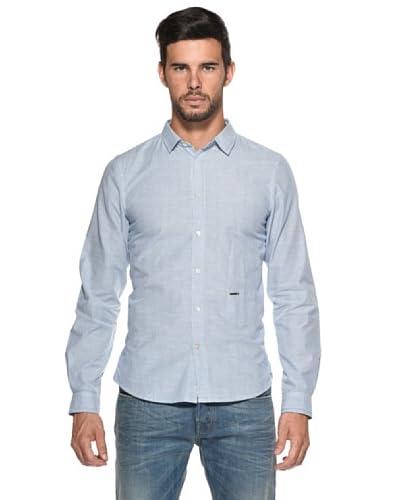 Diesel Camisa Sdany Blanco / Celeste
