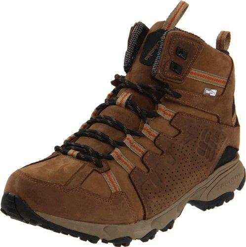 Columbia Men's Talus Ridge Mid Outdry LTR Trail Shoe,Saddle/Black,7 M US
