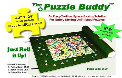 Puzzle Buddy 1500 Jigsaw Puzzle Mat (Size: 42