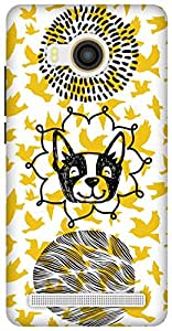 The Racoon Lean Woof with the Birdy hard plastic printed back case / cover for Vivo X Shot