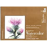 Strathmore 18-Inch by 24-Inch Watercolor Cold Press Paper Pad, 12-Sheet