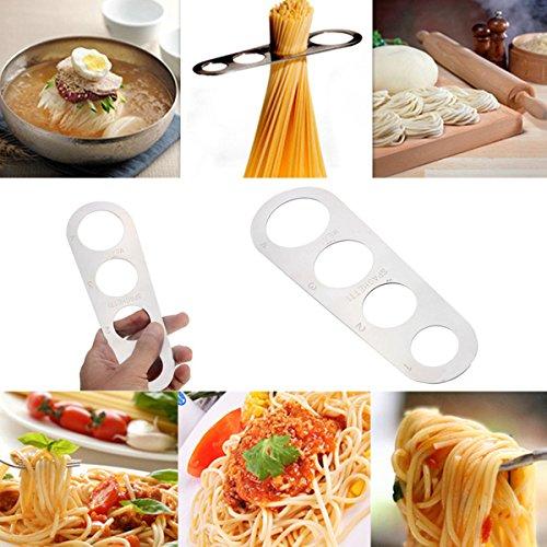 [Free Shipping] Stainless Steel Pasta Ruler Spaghetti Measurer Noodles Limiter Measuring Tool // De pasta de acero fideos Medidor de espaguetis gobernante limitador herramienta de medición de acero