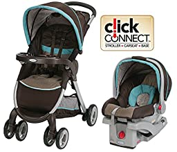 FastAction Fold Click Connect Travel System Graco Stroller and Car Seat