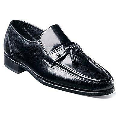 Florsheim Men's Como Tassel Loafers,Black,7 D US