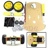 Motor New Smart Robot Car Chassis Kit Speed Encoder Battery Box for Arduino