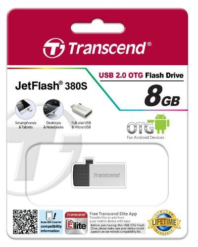 Transcend JetFlash 380 8GB OTG Pendrive
