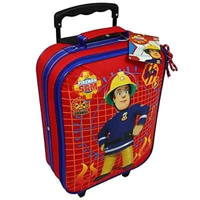 Feuerwehrmann Sam Kinderkoffer Reisekoffer Trolley Rollkoffer Gepäck Koffer 7632