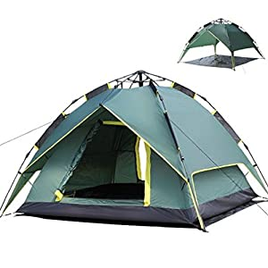Waterproof Automatic Outdoor 3~4person Double Layer Instant Camping Family Tent