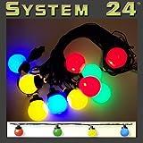 Best Season 491-51 System 24 LED-Party Light - Extra,10-teilig, multicolour