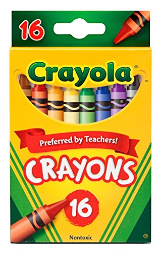 Crayola Classic Color Pack Crayons, 16 Colors Per Box Pack of 6