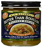 Better Than Bouillon Chicken Base Reduced Sodium 8oz