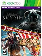 The Elder Scrolls V Skyrim  Bioshock Infinite - Xbox 360
