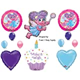 Abby Cadabby Cupcake BIRTHDAY PARTY Balloons Decorations Supplies Sesame Street