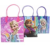 Disney Frozen Party Favor Goodie Gift Bags 12 Count
