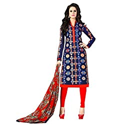 Typify Awesome Semistitched Salwar Suit Dress