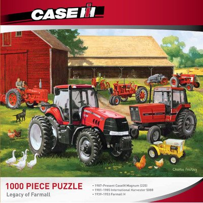 Masterpieces Legacy Of Farmall Jigsaw Puzzle, 1000-Piece